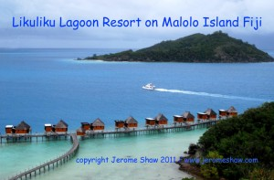 Likulilu Lagoon Resort on Malolo Island in Mamnuca chain of the Fiji Islands. Copyright Jerome Shaw 2010/www.JeromeShaw.com