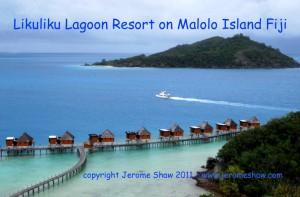 Likulilu Lagoon Resort on Malolo Island in Mamnuca chain of the Fiji Islands. Copyright Jerome Shaw 2010/www.JeromeShaw.com
